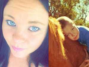 Kris-Deann Sharpley and her son Jackson.