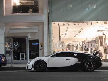 The 2012 model Bugatti Veyron Super Sports.