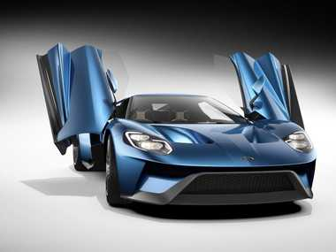The Ford GT supercar.