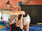Gymnastics trio looks forward to debut