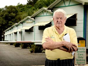 TIME TICKING: Lismore Palms Caravan Park owner Geoff Smith is having health problems and may be forced to close the park down if he cannot find a buyer in the next three months.