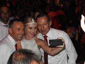 TONY Abbott was swamped by fans wanting a selfie with the Prime Minister as he joined almost 600 people at the 10th annual Dance for Daniel in Brisbane.