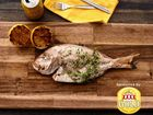 Whole BBQ Fish with XXXX tips