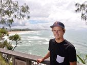 IT'S hard to go past our own surfing sensation, Coolum's Julian Wilson.