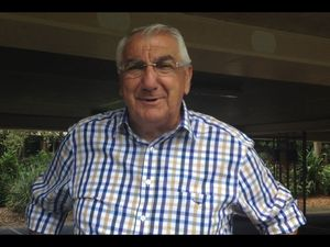 Lismore MP Thomas George has been keeping a low profile since voting began on Saturday night, but a few hours before the polls closed he spoke with Melissa Gulbin about his concerns for the election.