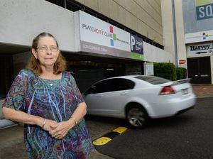 COUNTING THE COST: Ipswich City Square worker Gail Purcell is not happy that she will be charged $25 per day to park in the CBD carpark.