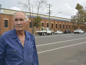 John Davis of John Davis Auto Electrical is concerned by proposed changes to Ruthven St caused by the Bunnings development at the site of the former Toowoomba foundry.