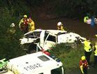 Elimbah crash Channel 7 footage
