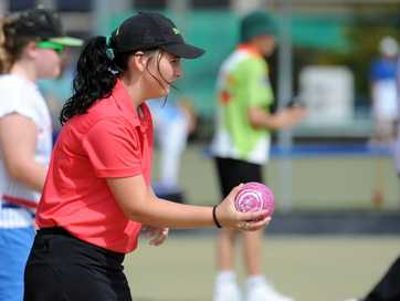 A selection of photos taken at the 2015 Junior State Championships held at the Burnett Bowls Club.