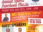 Maroochydore SLSC Annual Sports Lunch