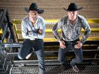KIWI cowboys Davey Green and Callum Tahau were barely on Australian soil when they were told to get mucking in for the biggest rodeo at the Great Western Hotel.