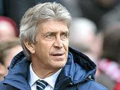MANUEL Pellegrini: team's poor form is down to him after the club's EPL campaign left looking dead and buried after a derby loss to Manchester United.