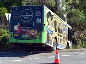 A SERIOUS medical episode is thought to have contributed to a bus crash at Weyba Downs.