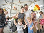MORE THAN MUSIC: The craft area at Splendour in the Grass 2014 provided a space for families to get together and have fun.