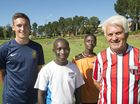 LEGENDARY Australian football identity Rale Rasic continued his annual Toowoomba pilgrimage this week as he continues spreading the word on the world game.
