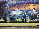 THE STUNNING mural on the Pacific Highway at Ulmarra is almost complete.