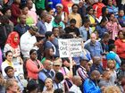 MORE than 5000 people have marched in Durban, South Africa, against attacks on foreigners living in the country.