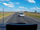 Dash cam footage captures dangerous overtaking manoeuvre
