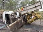The crash at the bottom of the Toowoomba Range.