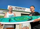 Surfboard shaper is a success story
