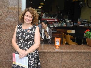 AHEAD OF THE GAME: Owner fo Toast Espresso Judy Hackett is ahead of the new smoking laws.