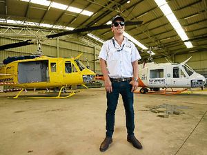 FLYING HIGH: Rotorwing Helicopter Services operations manager Michael Barnes offers helicopter services to the wider Northern Rivers region.