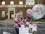 Superfans camp outside hospital ahead of royal birth