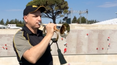 Corporal Andrew Barnett will play The Last Post at the Anzac Cove dawn service.