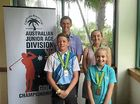 ISIS quartert Blake Dowling, Will Martell, Sophie Martell and Amara Burns have improved the local reputation of producing junior golfers.