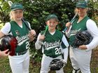 IT WAS truly a family affair for three Lowood siblings as they hit the diamond to compete at the Queensland State Softball Championships.