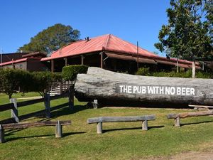 The Pub With No Beer at Taylors Arm will provide a unique backdrop for a stage of the WRC event on the Coffs Coast in September.