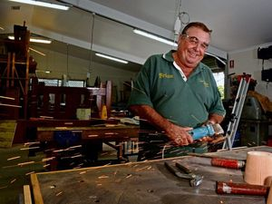 Vietnam Veteran Brian Mitchell says it would be great to get some younger returning servicemen as members at Tweed Men's Shed. Photo: Blainey Woodham / Tweed Daily News