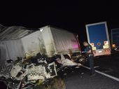 ONE man is dead after a truck collision near Macalister.