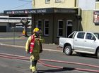 Emergency services responded to a fire at the Mill Street Tavern this morning.