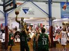 Commemorative basketball carnival sees players stepping up