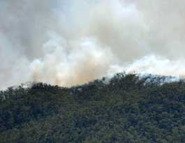National Parks conducting controlled burns at Berserker