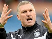 LEICESTER manager Nigel Pearson has warned his team of complacency after a 1-0 win over relegation rival Burnley moved his team out of the drop zone.