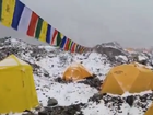 Watch: Avalanche hits Everest basecamp