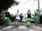 Peace and happiness at Mardigrass, where everyone gets abong