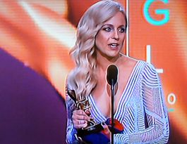 Carrie Bickmore uses Gold Logie to raise cancer awareness