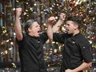 THEY started out as the ring-ins from the UK, but larrikin pair Will and Steve were last night crowned My Kitchen Rules champions of 2015.
