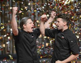 Pommies Will and Steve win My Kitchen Rules
