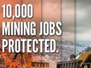 A POWERFUL campaign to protect regional jobs from 100% fly-in, fly-out rosters is an example of the great things achieved by regional newspapers.