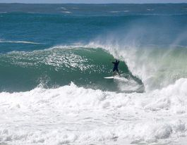 Swell times for leading tamers of Sunshine Coast big waves