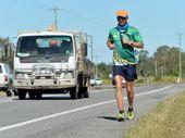 DAVE Alley found he still had a bit left in the tank after biking around Australia in 2011.