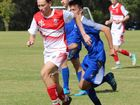THE Ipswich Grammar School First XI football squad put their disappointing loss to BBC behind them in their second round match.