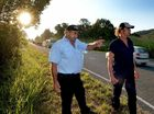 "RESIDENTS are pleading with the State Government to slow down a ""frightening"" stretch of Yandina-Coolum Rd."