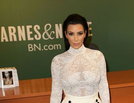 Kim Kardashian West bans selfies at launch of selfies book