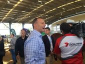 8.35am: PRIME Minister Tony Abbott has announced $100 million to upgrade beef roads in Northern Australia.