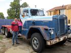 IT WAS a pleasure to interview Memphis Madew when we found her standing on Ned Morrison's 1964 Kenworth 923, the first Kenworth to be imported into Tasmania.